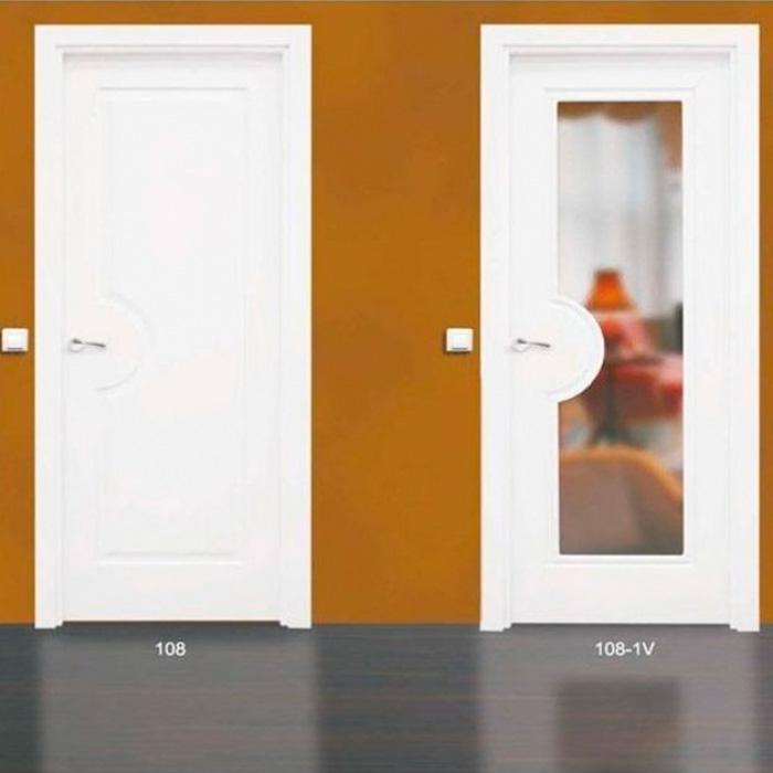 Puertas con o sin cristal en el interior